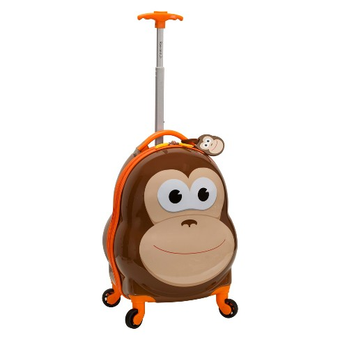 """Rockland 17"""" Kids My First Suitcase - Monkey - image 1 of 4"""