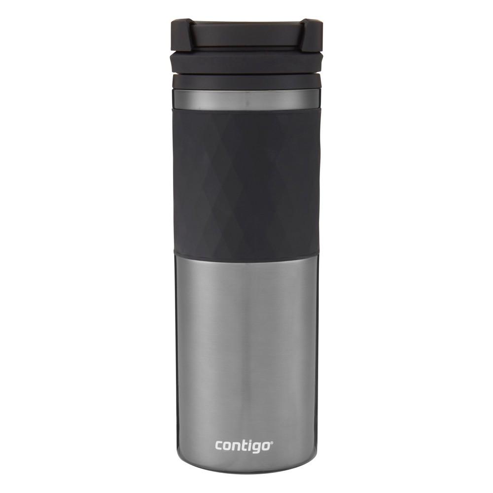 Image of Contigo TwistSeal Coffee Travel Mug 16oz - Silver