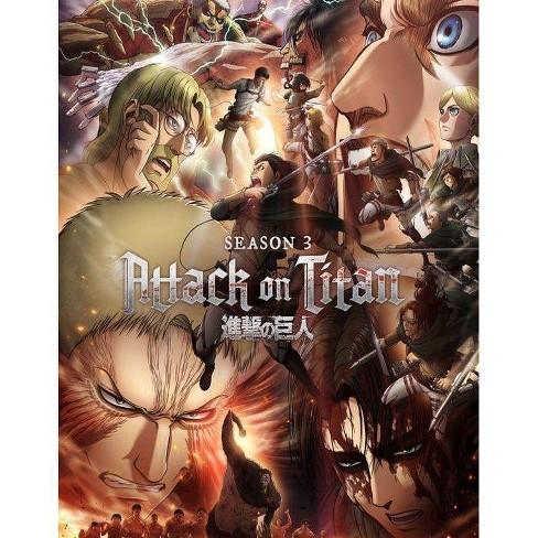 Attack on Titan: The Complete Season Three (Blu-ray)(2021) - image 1 of 1