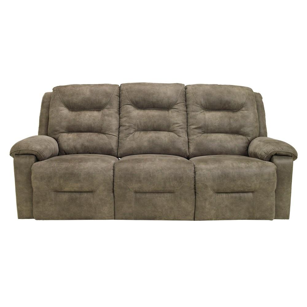 Rotation Reclining Power Sofa Smoke (Grey) - Signature Design by Ashley