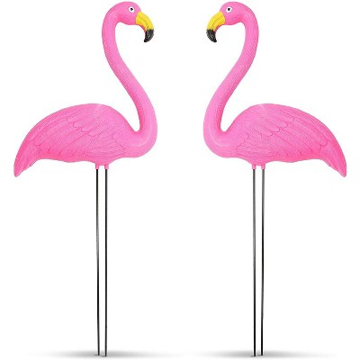 2-Pack Pink Flamingo Yard Ornaments for Home Garden & Lawn Outdoor Decor 22 inches