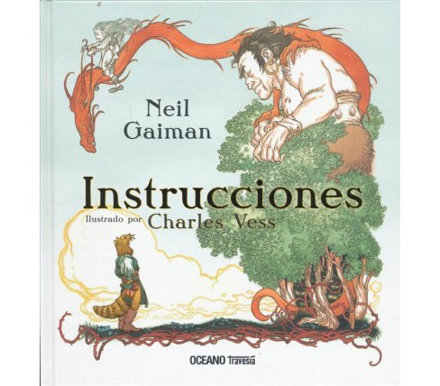 Instrucciones / Instructions -  by Neil Gaiman & Charles Vess (Hardcover) - image 1 of 1