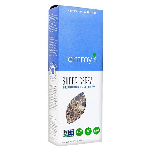 Emmy's Blueberry Cashew Super Cereal 11 oz - image 1 of 1
