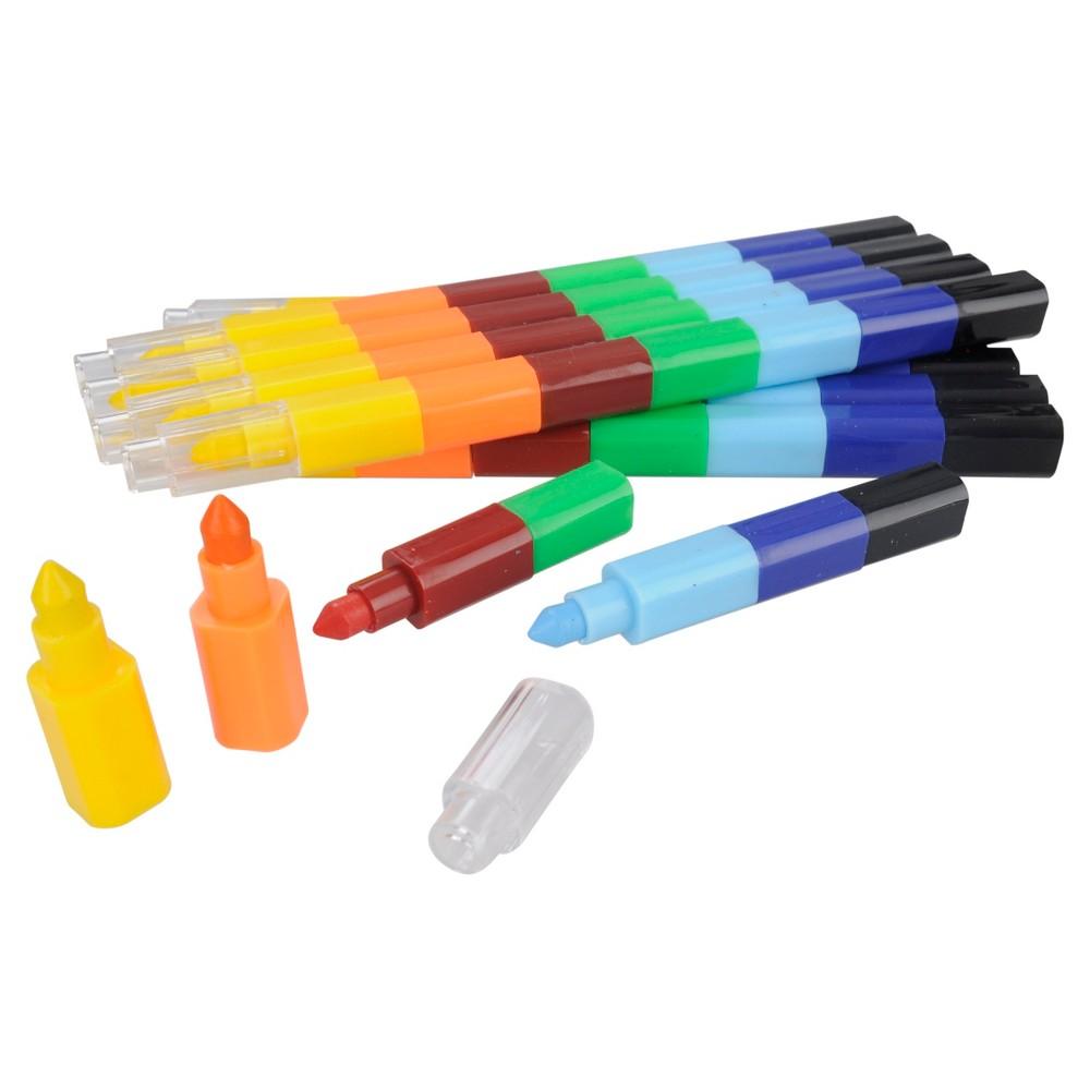 Image of 10ct Stackable Crayon - Spritz