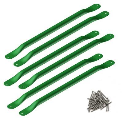 Swing-N-Slide Metal Monkey Bar 21.5-Inch Rungs - Green (6-Pack)