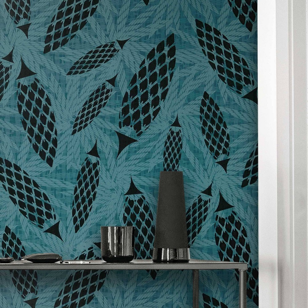 Dip Design Is Personal Peel And Chic Wallpaper Teal