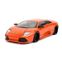 Jada Toys Fast & Furious Lamborghini Murcielago LP640 Die-Cast Vehicle 1:24 Scale Orange