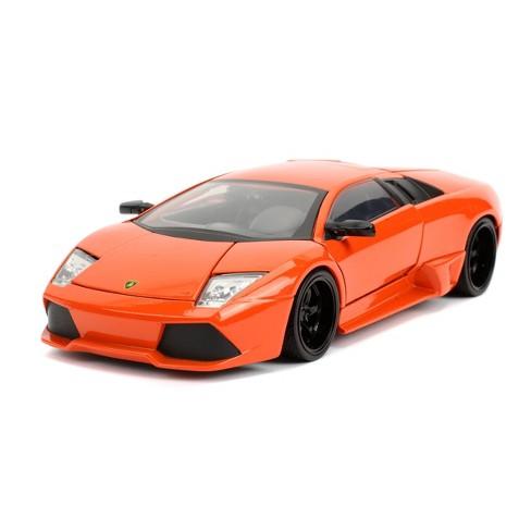 Jada Toys Fast & Furious Lamborghini Murcielago LP640 Die-Cast Vehicle 1:24 Scale Orange - image 1 of 4