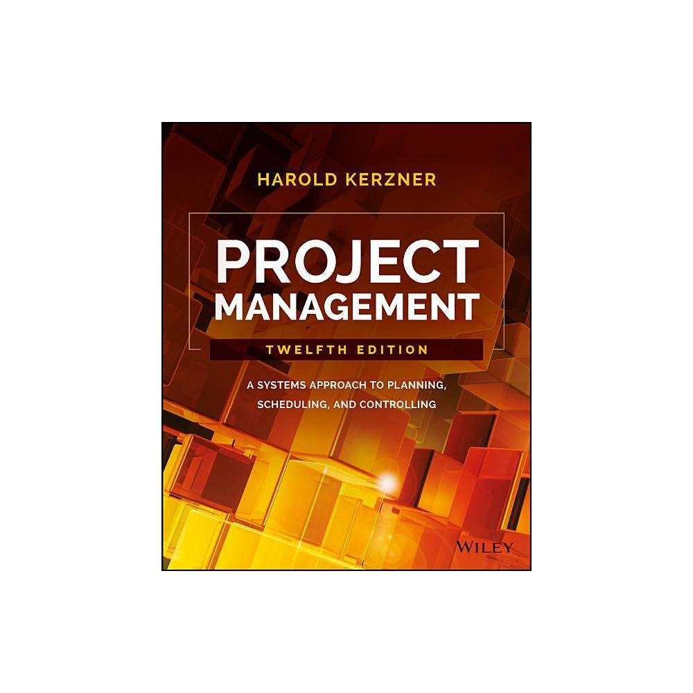 Project Management 12th Edition By Harold Kerzner Hardcover