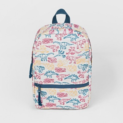 Toddler Boys' All Over Dino Print Backpack - Cat & Jack™ Blue