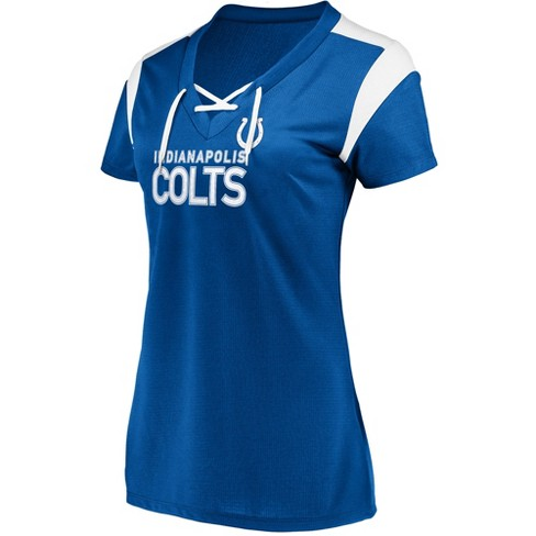 NFL Indianapolis Colts Women's Shimmer Top Fashion Top - image 1 of 2
