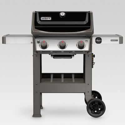 Weber Spirit II E-310 3-Burner LP Gas Grill 45010001 Black
