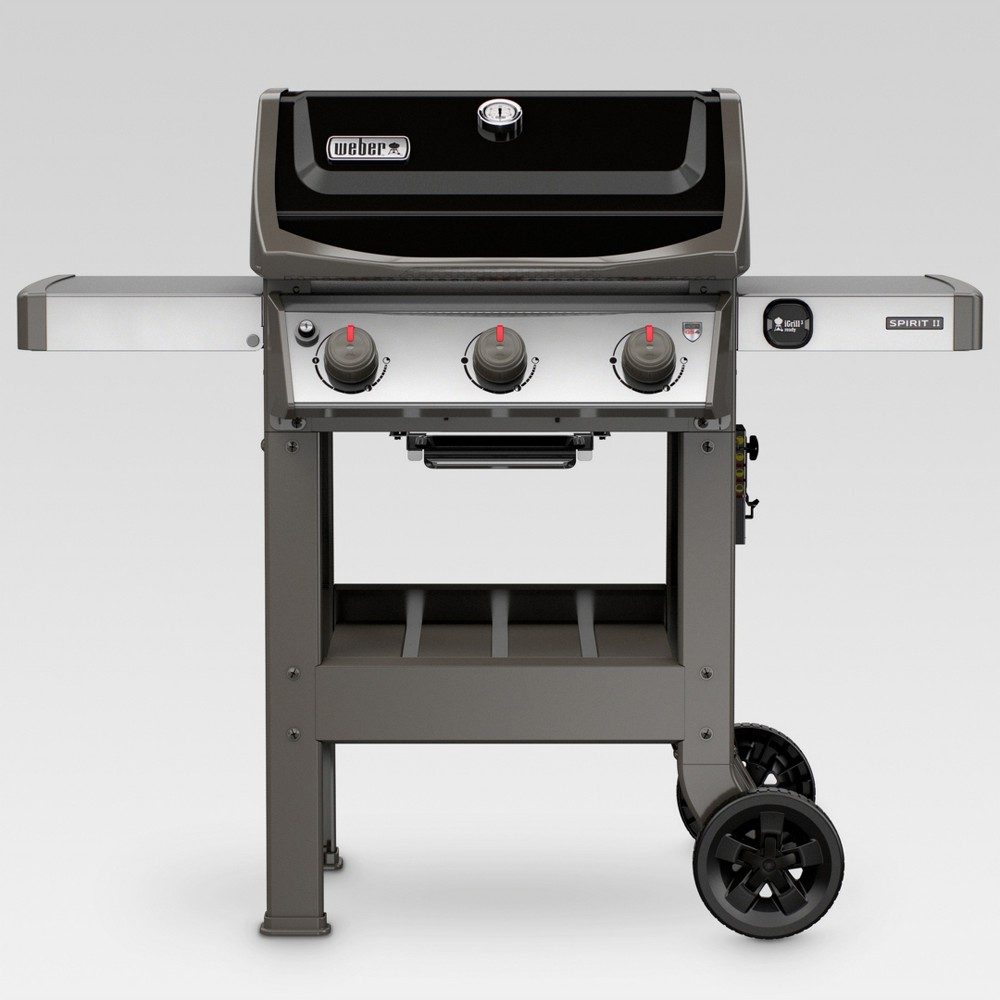 Weber Spirit II E-310 3-Burner LP Gas Grill 45010001 Black 52574777
