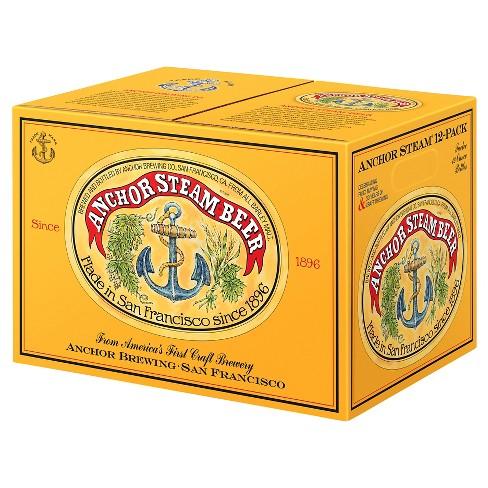 Anchor Steam Beer - 12pk/12 fl oz Bottles - image 1 of 1