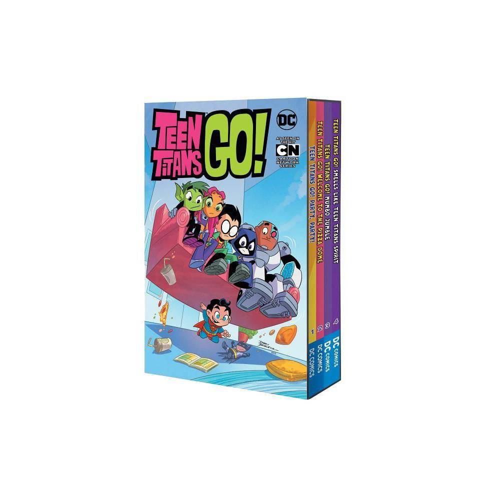 Teen Titans Go Set Teen Titans Go By Sholly Fisch Paperback