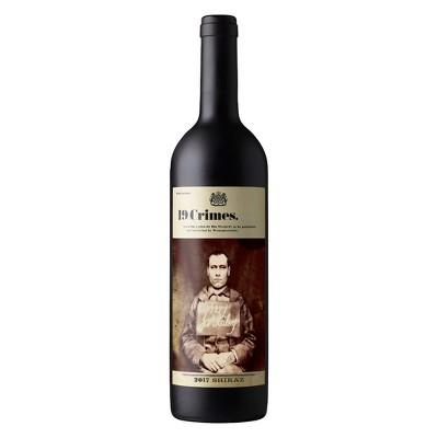 19 Crimes Shiraz Red Wine - 750ml Bottle
