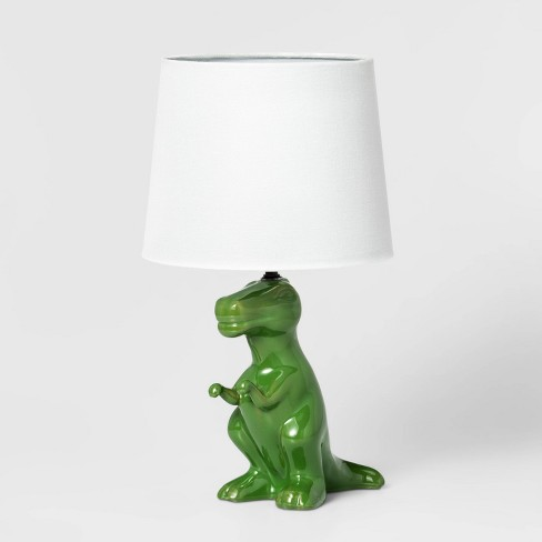 Dinosaur Table Lamp Green - Pillowfort™ - image 1 of 4