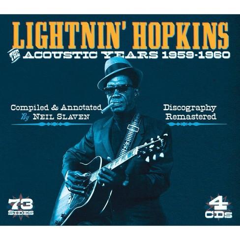 Lightnin' Hopkins - Acoustic Years (CD) - image 1 of 1