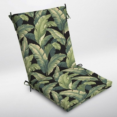 CebuClean Finish Outdoor Chair Cushion Onyx - Arden Selections
