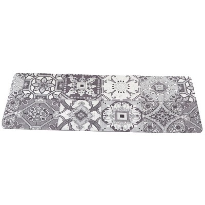 """1'8""""x5' Rectangle Runner Gray - The Lakeside Collection"""