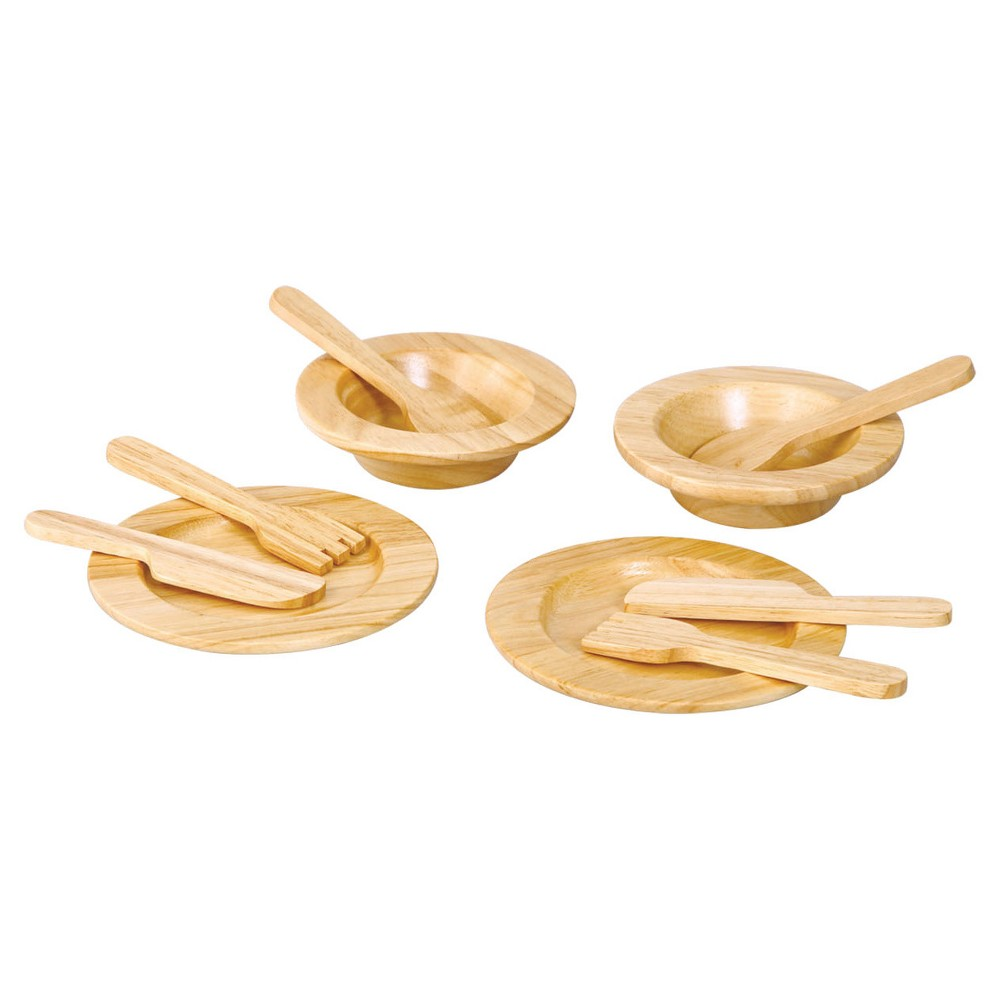 PlanToys Tableware Set, Cooking and Dining Toys