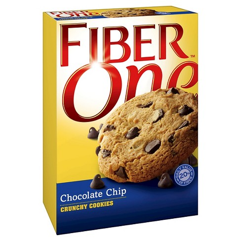 Fiber One Chocolate Chip Crunchy Cookies 5.52 oz - image 1 of 1