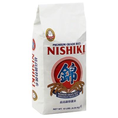 Nishiki Premium Medium Grain White Rice - 10lbs