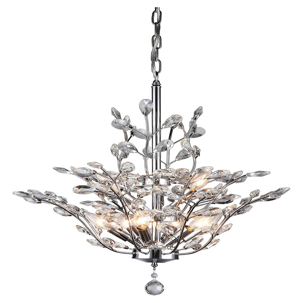 Warehouse Of Tiffany Chandelier Ceiling Lights -Light Sliver, Silver