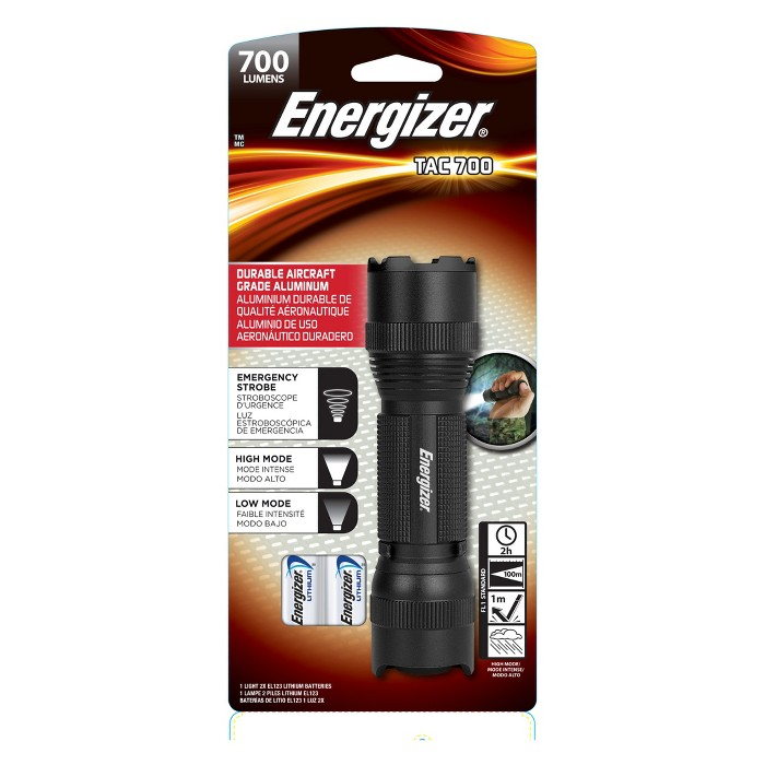 Energizer LED Vision HD Performance Tactical Light - image 1 of 9