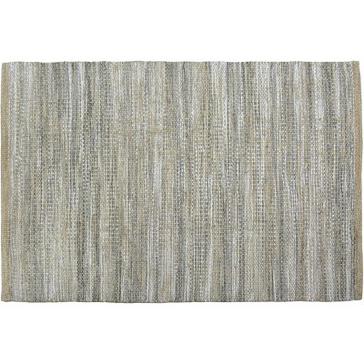 2'6 X4' Woven Accent Rug Gray Natural - Threshold™