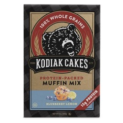 Kodiak Cakes Protein Packed Muffin Mix Blueberry Lemon - 14oz
