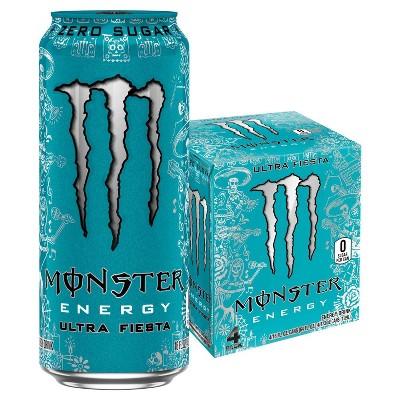 Monster Energy Ultra Fiesta - 4pk/16 fl oz Cans