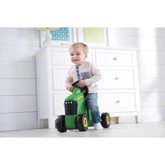 John Deere Sit N Scoot Tractor - Green image number null