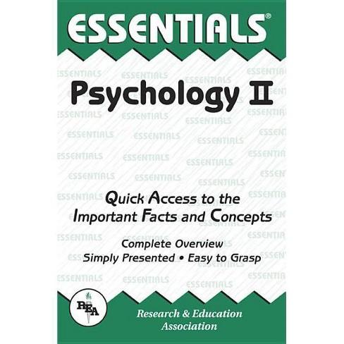 Psychology II Essentials - by  Linda Leal (Paperback) - image 1 of 1