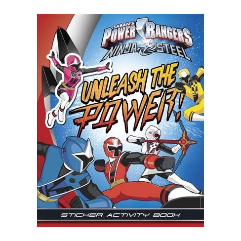 Unleash the Power! Sticker Activity Book - (Power Rangers (Paperback)) (Paperback) - image 1 of 1