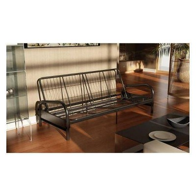Khloe Contemporary Metal Futon Frame - Room & Joy
