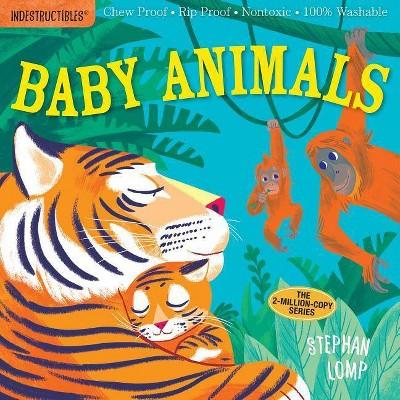 Indestructibles: Baby Animals - (Paperback)