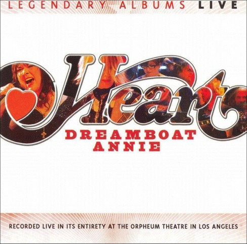 Heart - Dreamboat Annie Live (CD) - image 1 of 1