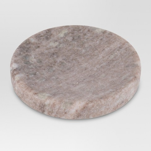 Marble Soap Dish Beige - Threshold™ - image 1 of 1