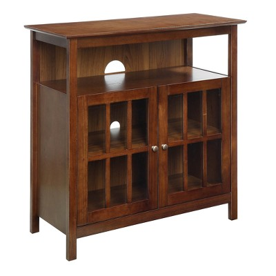 """Big Sur Highboy TV Stand for TVs up to 42"""" - Breighton Home"""