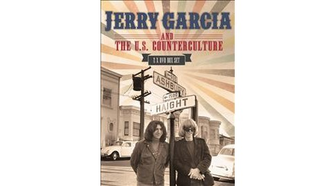 Jerry Garcia & The Us Counterculture (DVD) - image 1 of 1