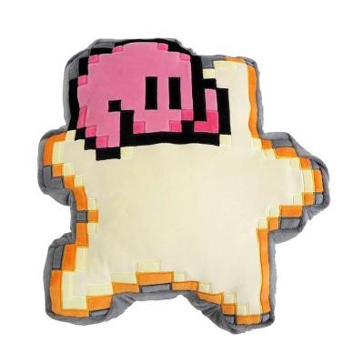 Little Buddy LLC Kirby Nintendo 12 Inch Pillow Plush - 8 Bit Star w/ Kirby