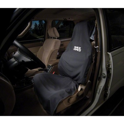 RaceFace Car Seat Cover: Black, One Size