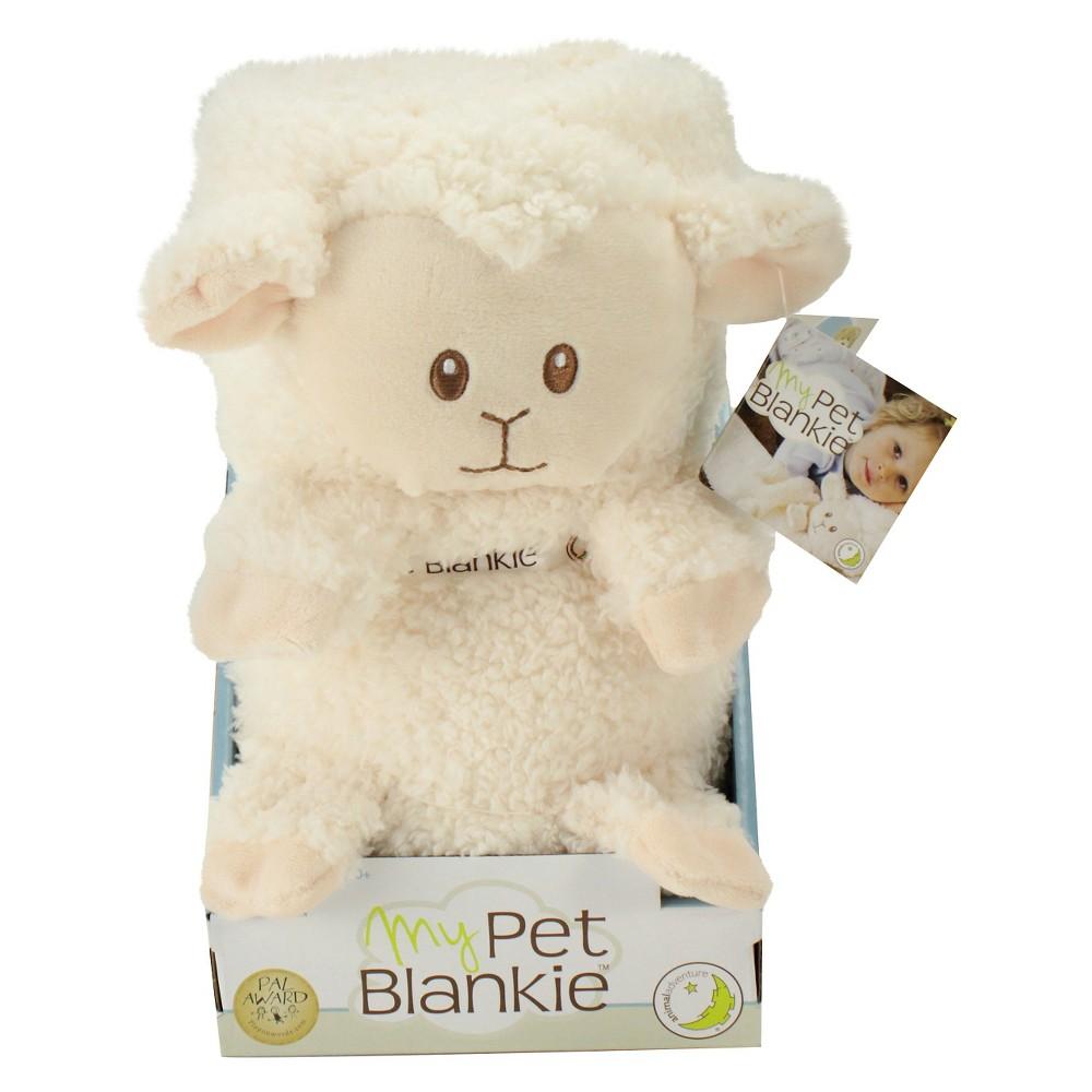 Animal Adventure My Pet Blankie Original - Lamb, Ivory