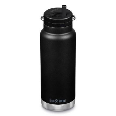 Klean Kanteen 32oz TKWide Insulated Stainless Steel Water Bottle with Twist Straw Cap