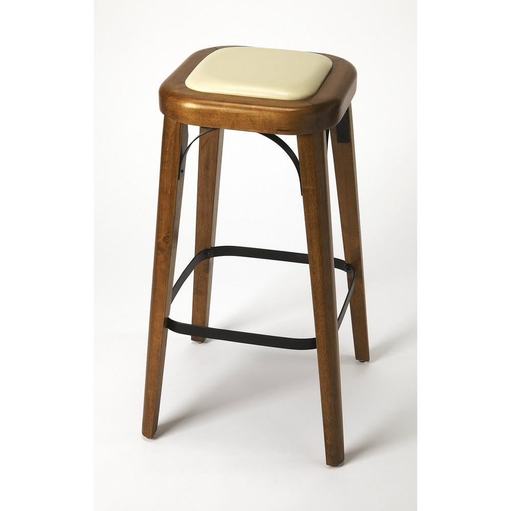 Incredible Fermi Bar Stool Light Brown Butler Specialty Machost Co Dining Chair Design Ideas Machostcouk