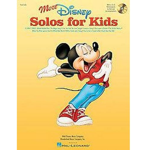 More Disney Solos for Kids (Paperback) - image 1 of 1