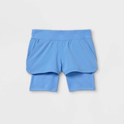 Toddler Girls' Activewear Shorts - Cat & Jack™ Blue