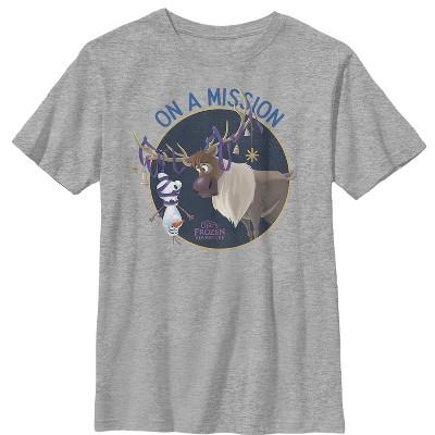 Boy's Frozen Olaf Sven Mission T-Shirt