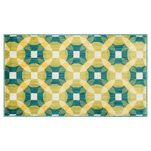 "Loloi Isabelle Accent Rug - Teal (1'7""X2'6"") - image 1 of 1"